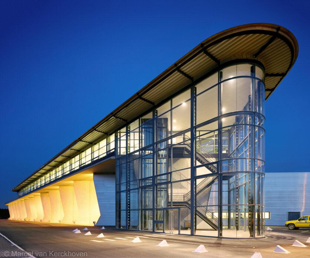 Sneeuwvloot Schiphol Airport - Moen & van Oosten Architecten